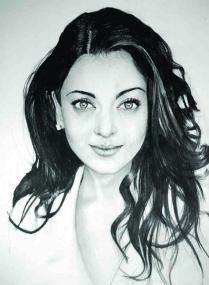 portret Aishwarya Rai
