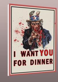 Uncle Sam - zombie